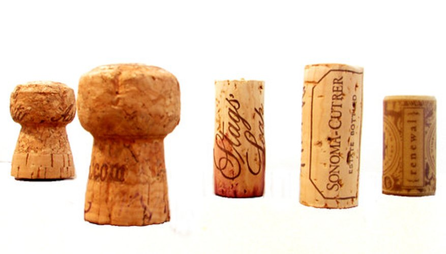 Various bottle corks