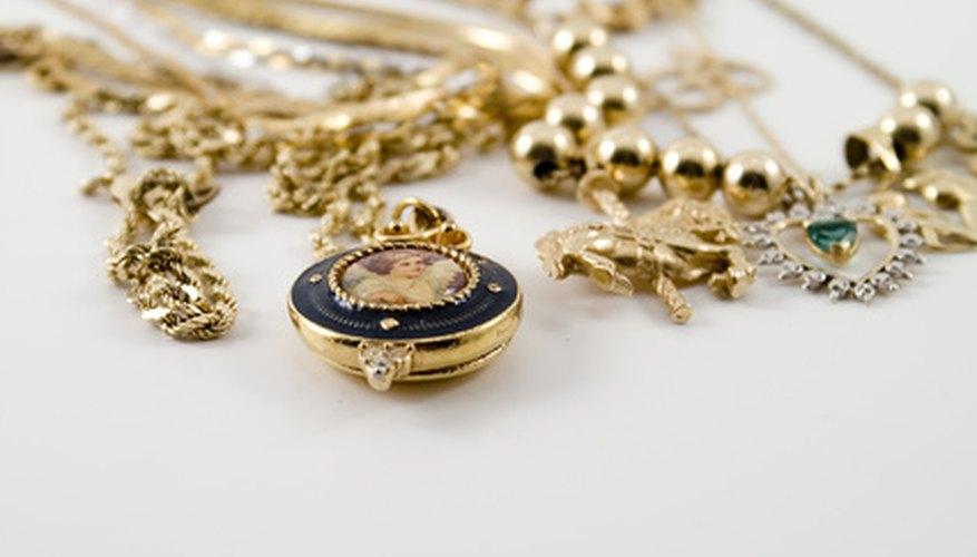 Gold hallmarks can tell you a lot about your antique gold jewelry.