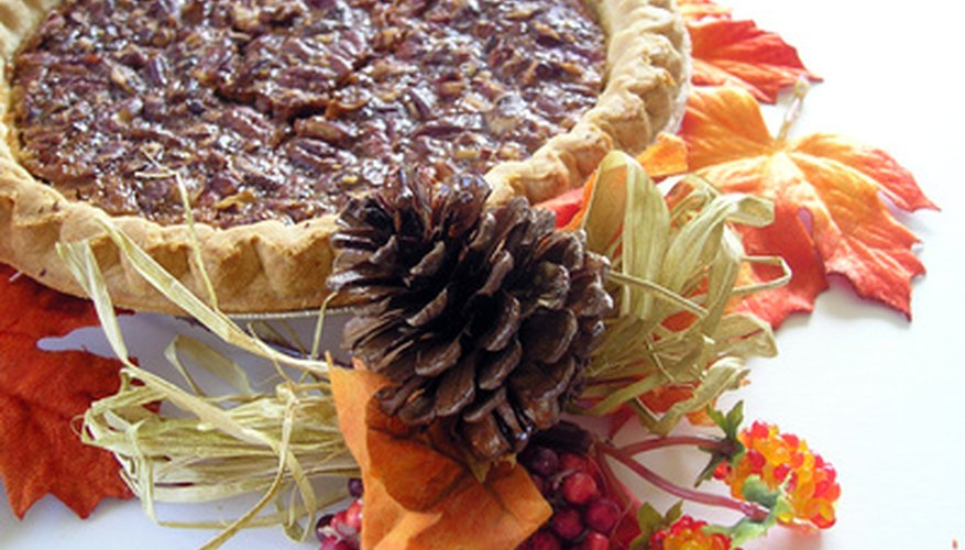 Pecans are common in desserts such as pecan pie.