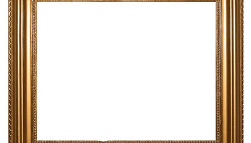 → Cómo reparar marcos de cuadros   Geniolandia