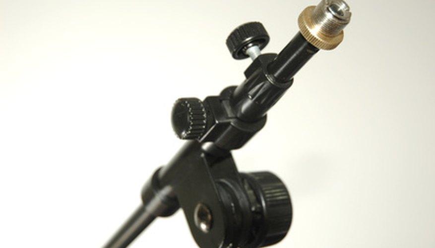 Los pedestales para micrófono vienen en variadas configuraciones y combinaciones.