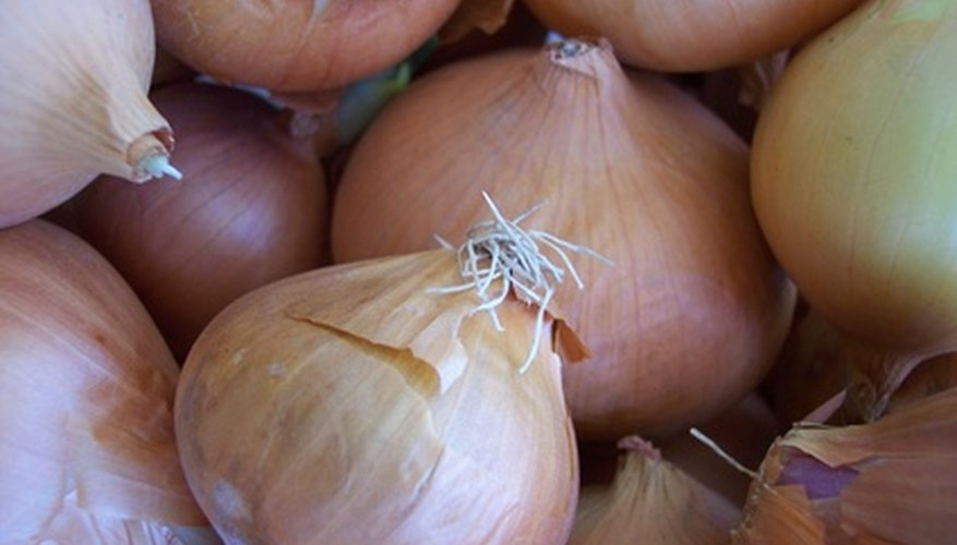Grow bags allow you to grow onions in small spaces.