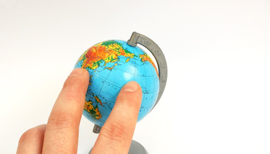 Globalization places world markets at business people's fingertips.