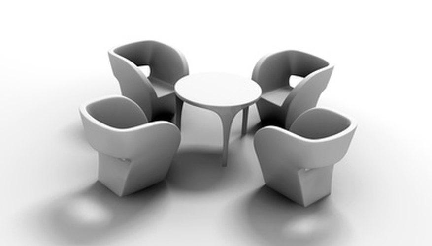 Las Artes Industriales le ofrecen a las personas la oportunidad de diseñar muebles modernos distintos.