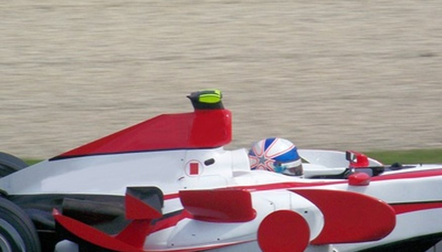 Los automóviles de F1 frecuentemente utilizan cuerpos de acelerador tipo barril.