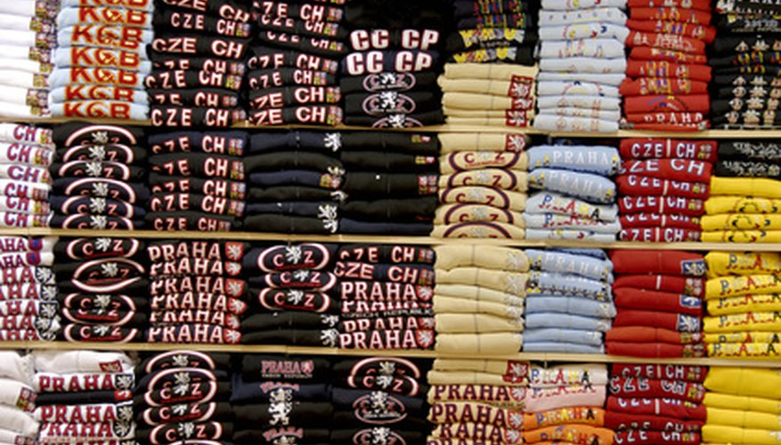 To sell T-shirts at a local festival, you'll need a vendor's license.