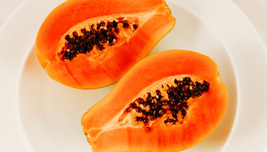 Papayas contain an enzyme that helps get rid of warts.