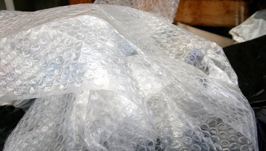 Bubble wrap ranks poorly in ecological and practical categories.