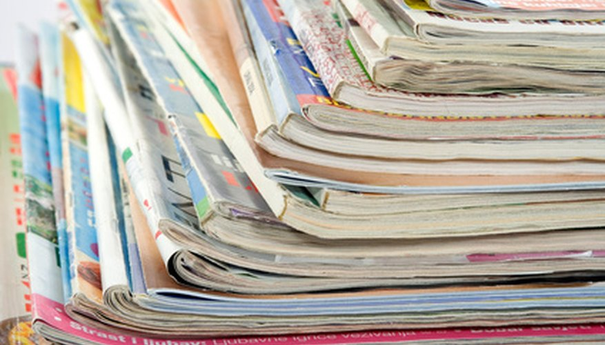 Print media can be found in magazines among other mediums as well.