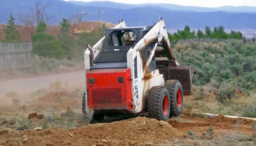 The Bobcat 773G is a compact front-end loader designed for a variety of uses.