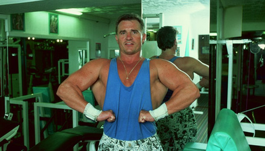 Bodybuilding, a staple of most pro wrestlers.