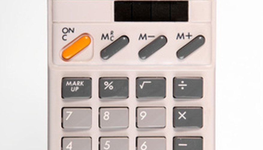 Use a calculator and simple formula to calculate variance from standard error.