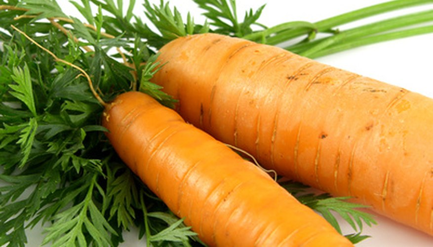 Carrots can withstand cold weather and light frost.