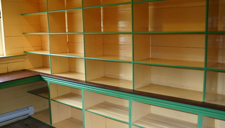 Custom shelving can make your crawl space usable for storage.