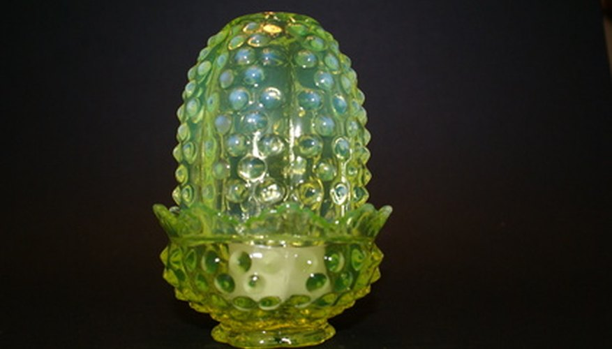 Fenton opalescent glass has quality and style.