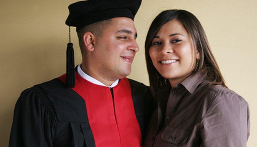 Foto de graduación.
