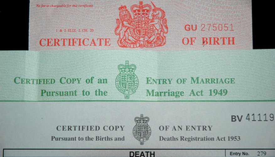 How To Obtain A Certified Birth Certificate From Washington Dc