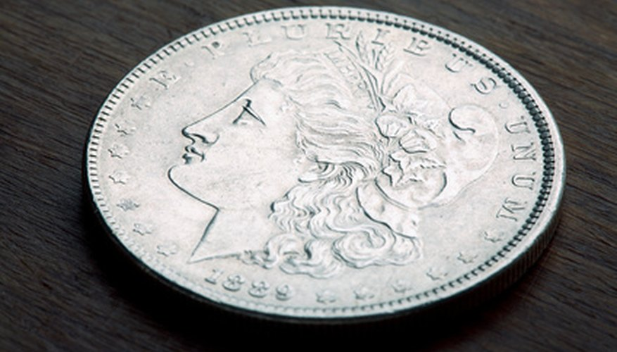 The Morgan silver dollar was minted from 1878 to 1921.