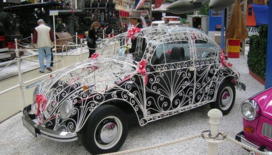 Los cilindros del motor trasero del VW Beetle tienen aletas en todo su perímetro para ayudar en la disipación del calor.