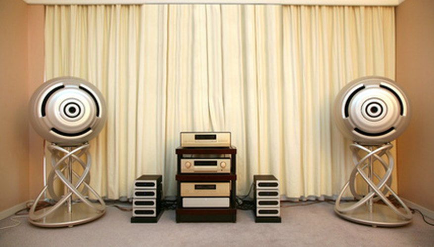The Peavey CS 400 can be used as part of a home stereo system.