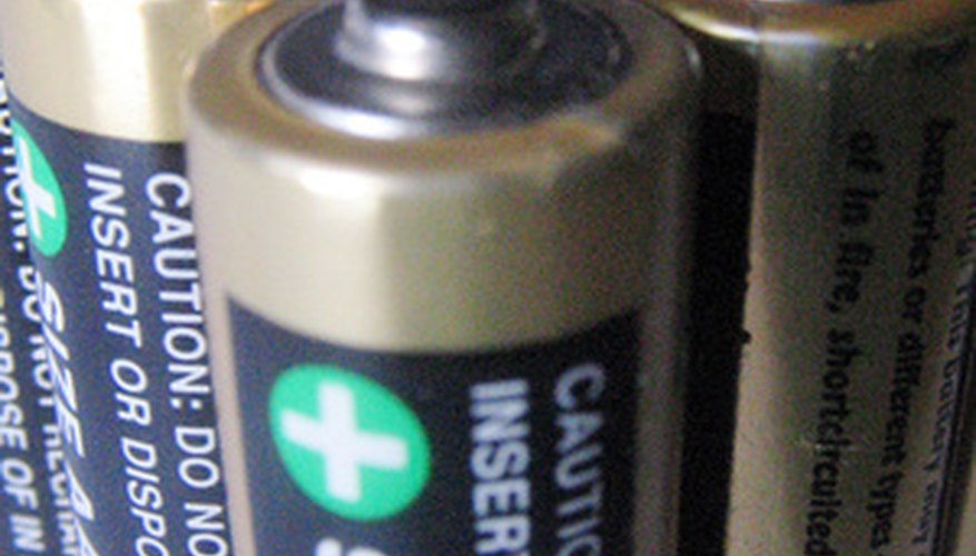 Batteries often contain highly corrosive acids.