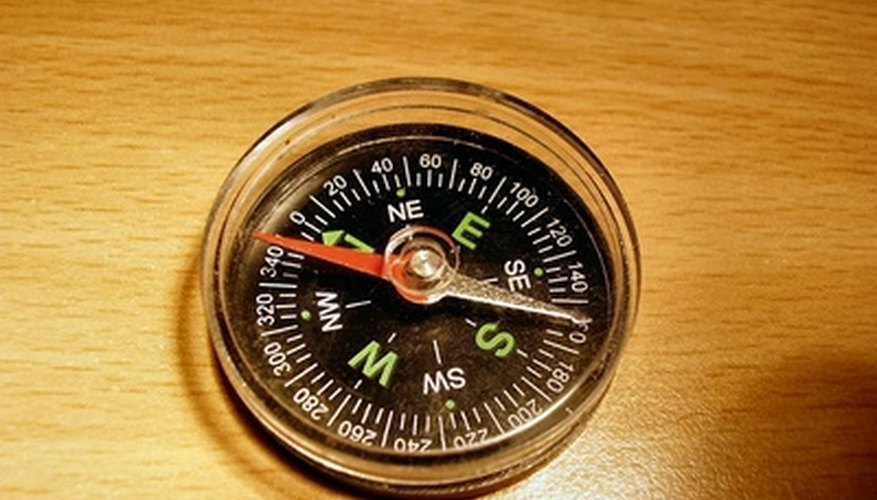 Magnet in compass.