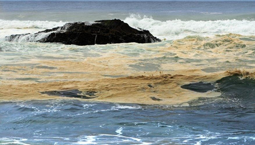 Oil spills threaten humans and wildlife.