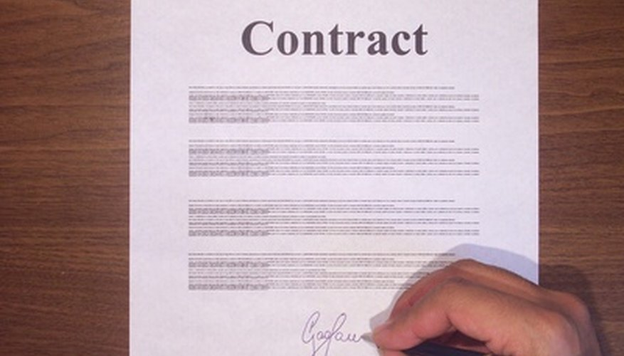 While a contract can provide assurances and parameters, the language can sometimes cause issues.