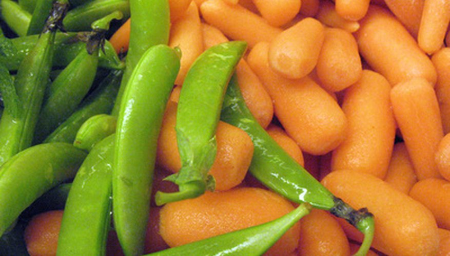 Peas and carrots grow well in southern Idaho.