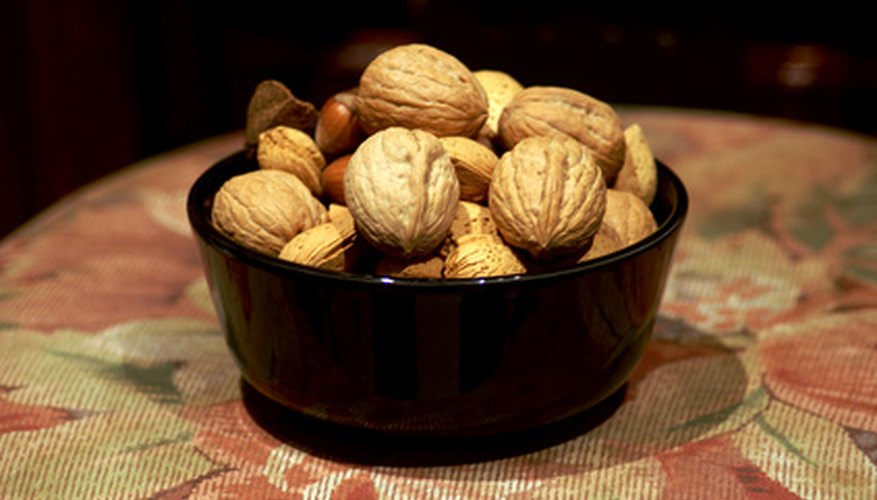 Pecans are common ingredients in Southern baking recipes.