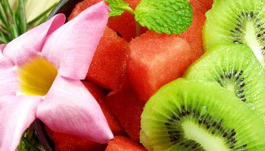 Cómo vender ensaladas de frutas.