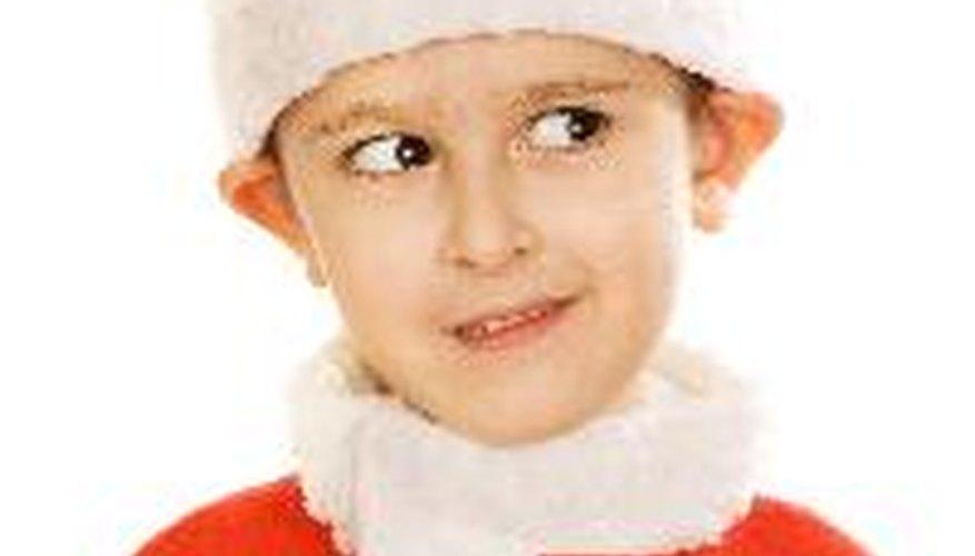 Crea tu propio disfraz de Santa para estas fiestas.