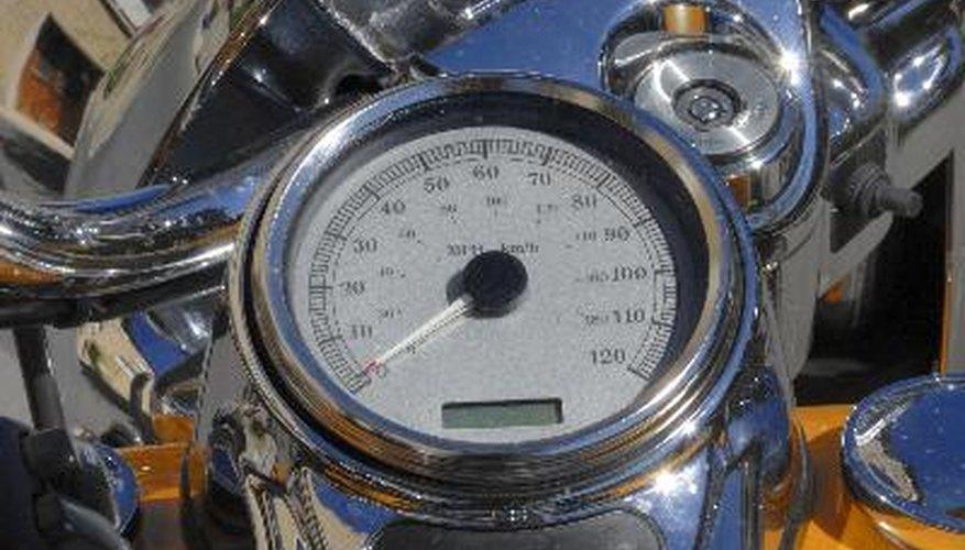 speedometer at motor
