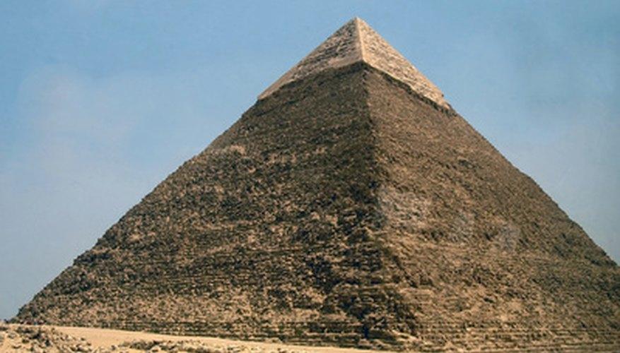 Las pirámides se han convertido en un icono de la cultura del antiguo Egipto.