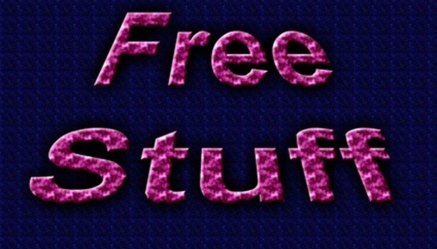 Conseguir cosas en línea gratis.