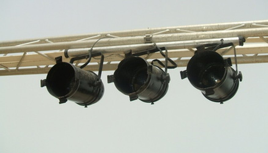 PAR lights are popular for many applications.