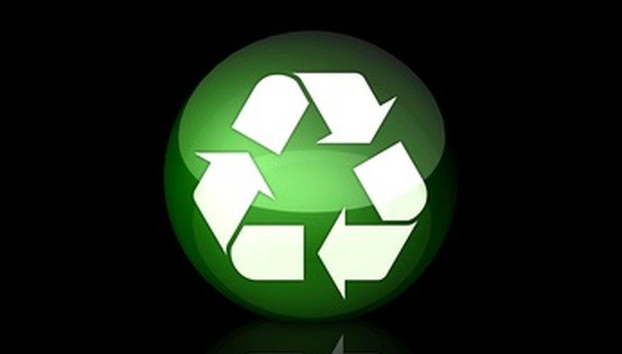 Los materiales reciclados son un beneficio para la economía.