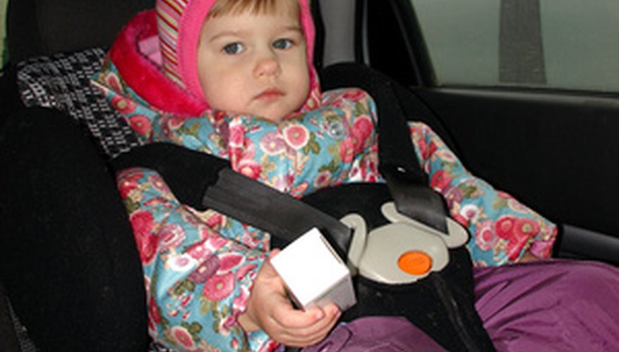 Louisiana state law requires children to be properly secured in vehicles.