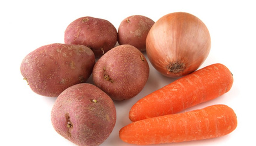 Carrots and potatoes are excellent choices for Idaho gardens.