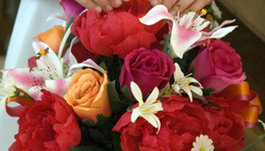Fresh flower arrangements need to be kept cool.