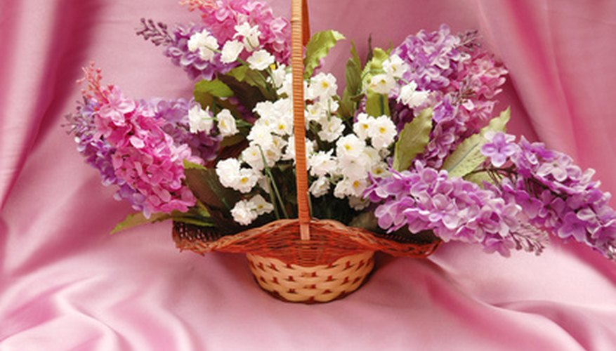Lilacs add color to spring arrangements.