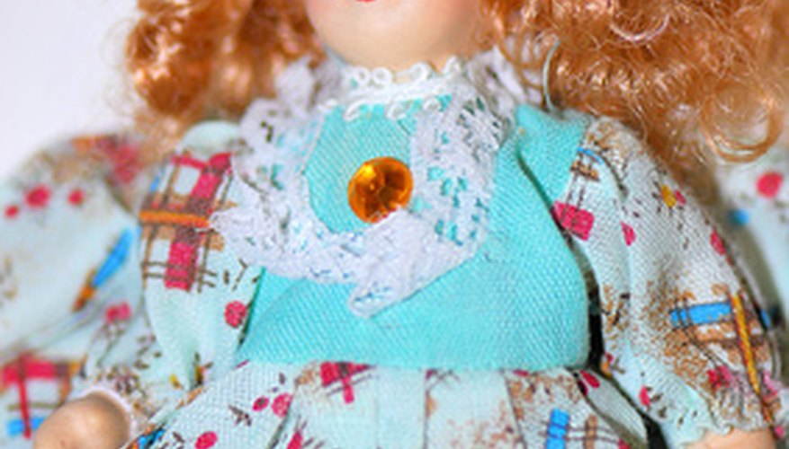 Doll hair sometimes gets frizzy and needs re-styling.