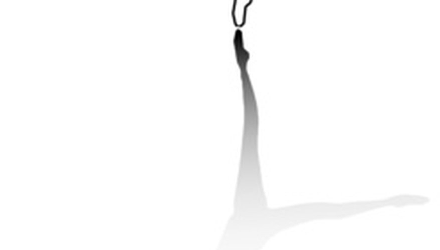El salto cabriole usualmente es presentado por hombres bailarines.