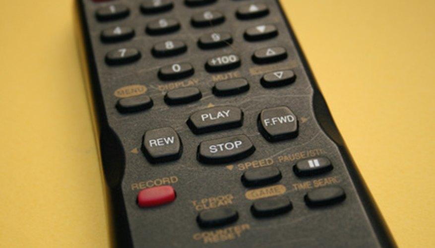 Los cables coaxiales son usados para muchos aparatos eléctricos anexos a la televisión.