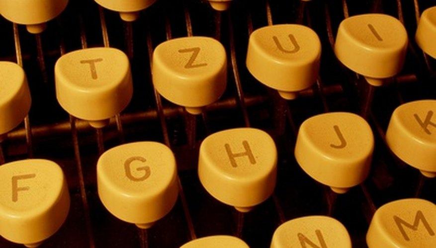 Las máquinas de escribir Olympia venían con instrucciones mal traducidas del alemán.