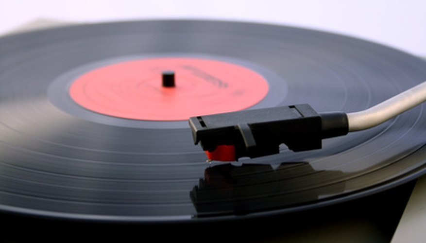 There are many different kinds of vinyl records.