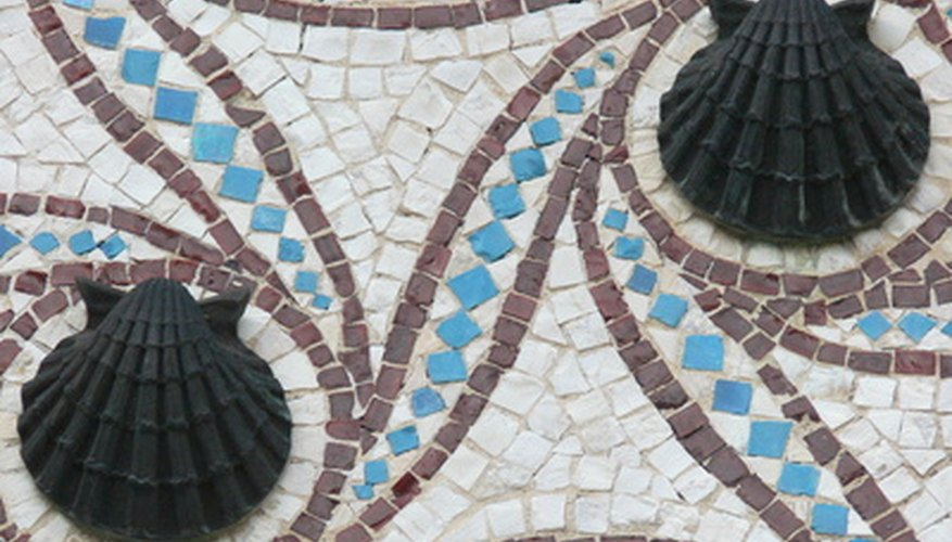 Mosaic is an art form dating back to ancient times.
