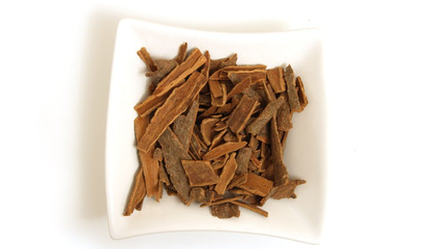 Fresh cinnamon bark is an ideal addition to a cook's kitchen.