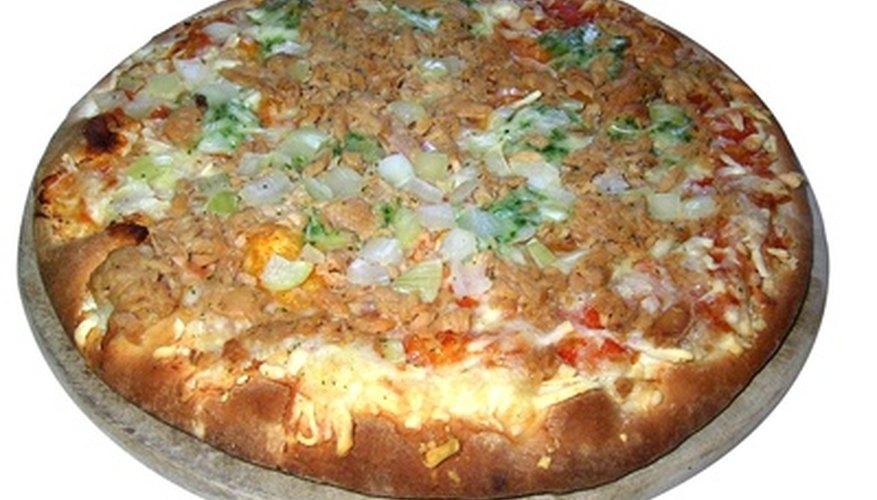 Diseña un menú que represente tu pizzería.