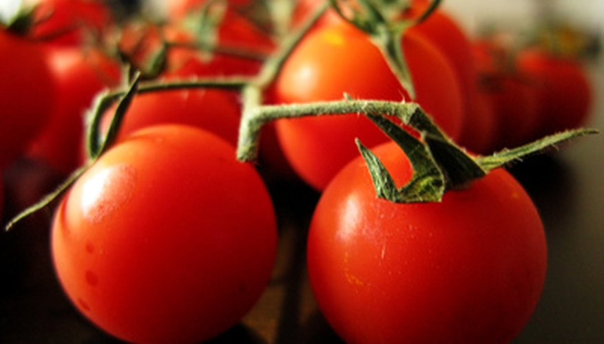 Grow tomato plants in containers on your patio.